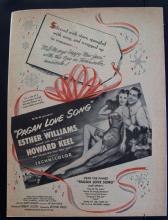 Pagan Love Song (1950) - Esther Williams | Vintage Trade Ad